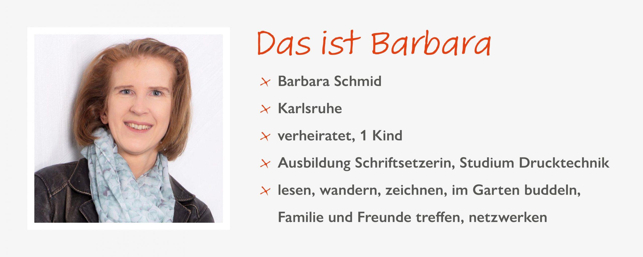 Barbara, Expertin für Technik & Tools - Der Steckbrief