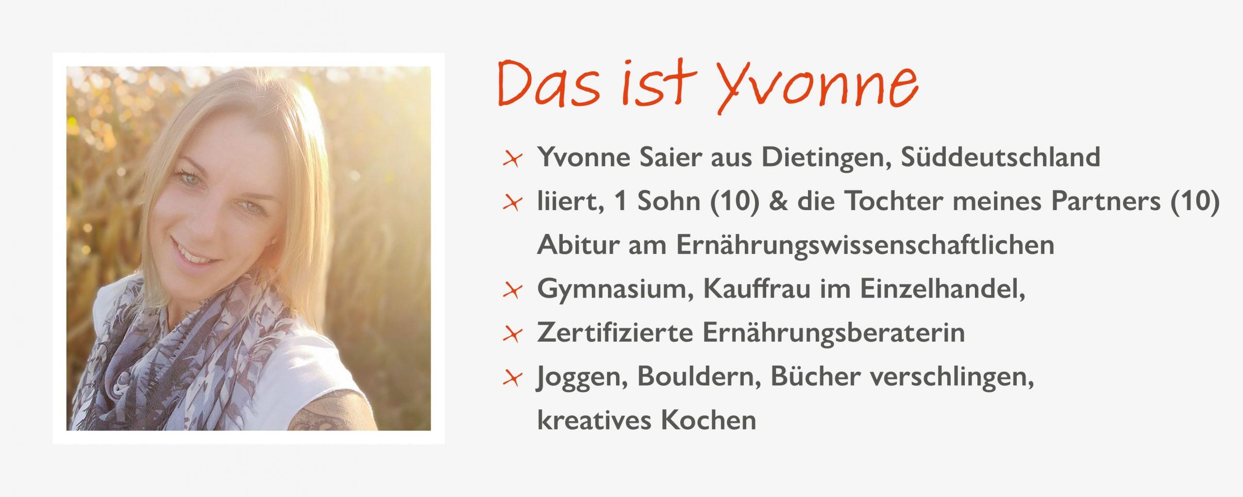 Yvonne Saier, Steckbrief