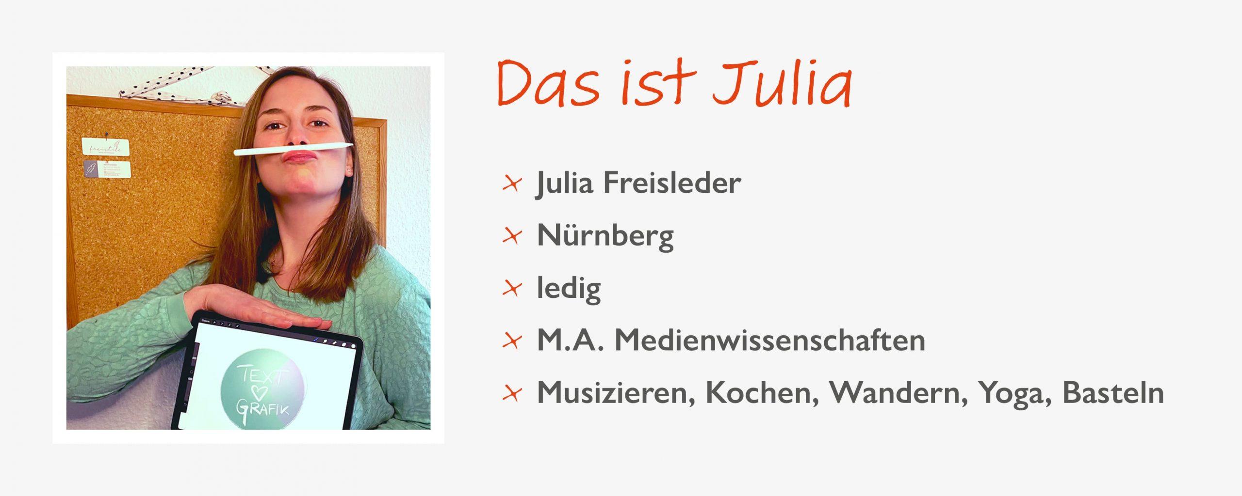 Steckbrief Julia Freisleder
