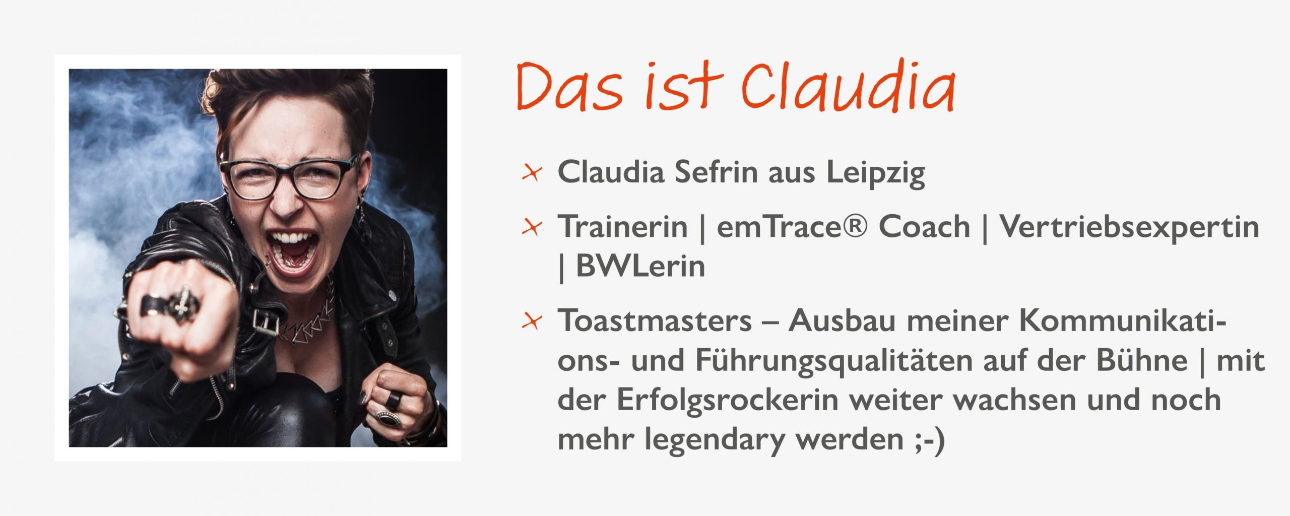Erfolgsrockerin & Motivationscoach Claudia Sefrin