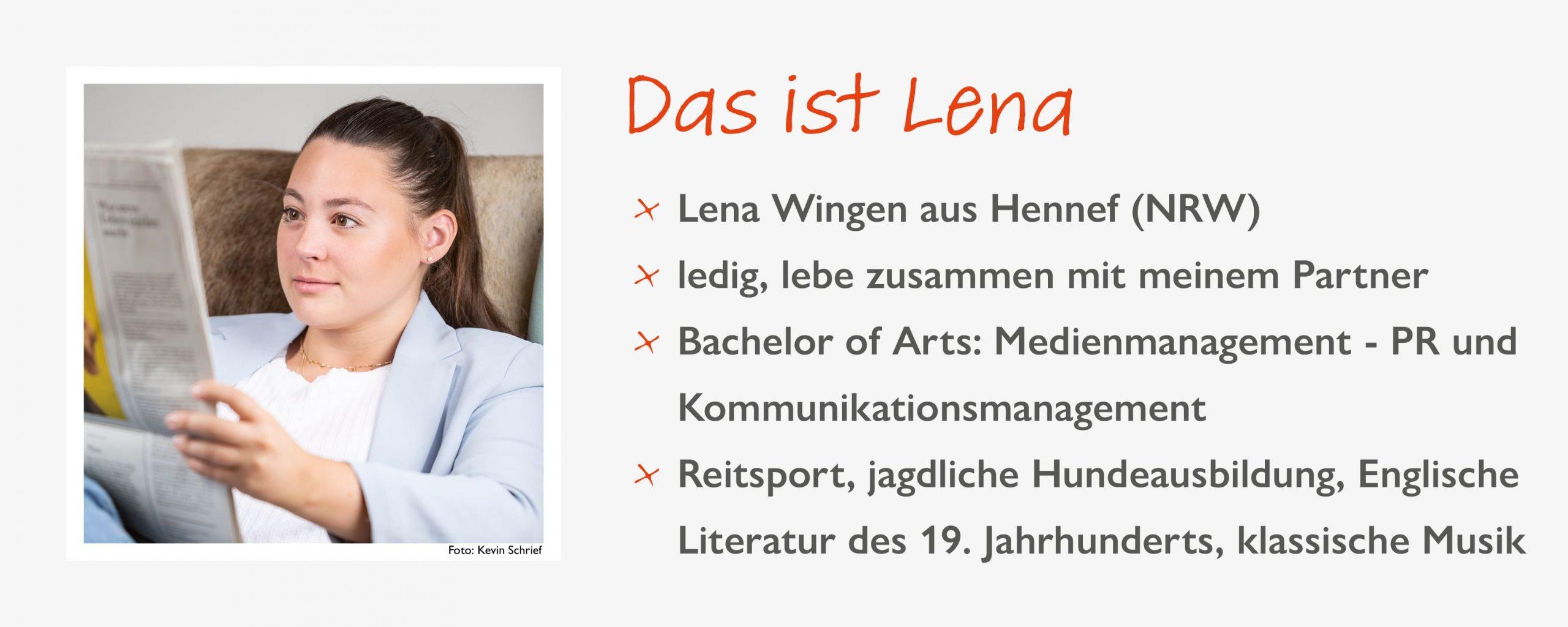 Steckbrief Lena Wingen