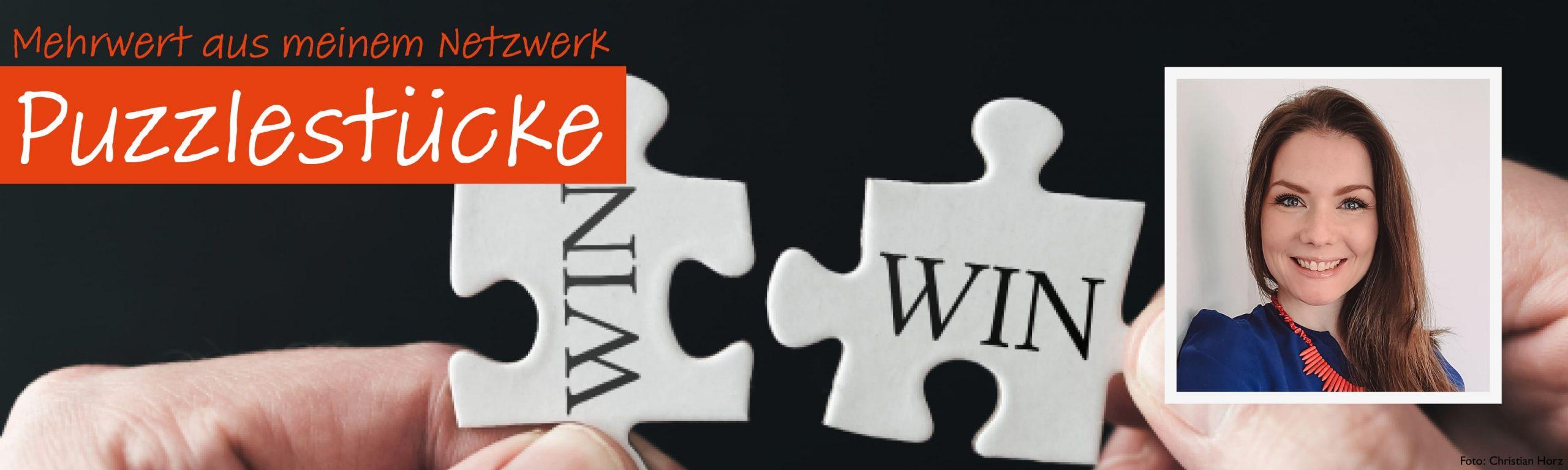 Puzzlestücke: Kim Averweg, PR-Beraterin