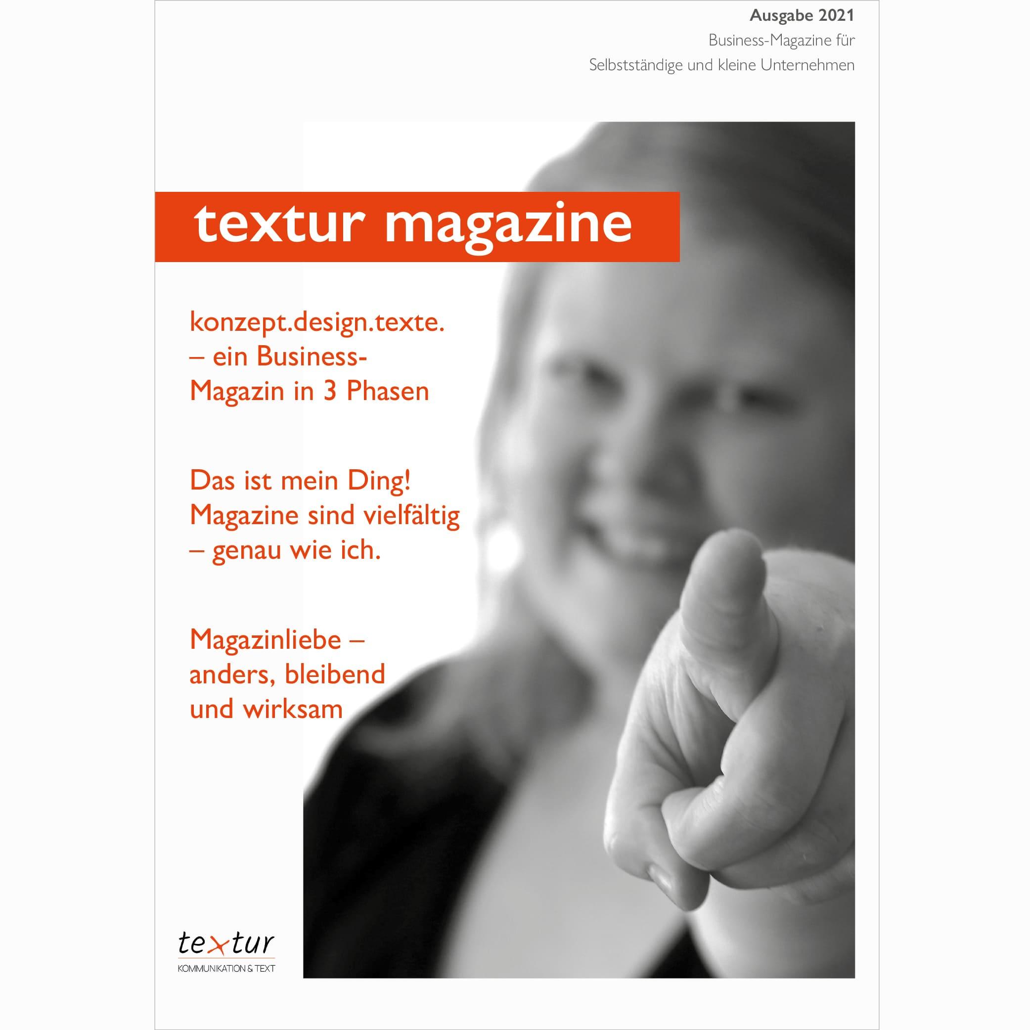 Business-Magazine Referenz Kundenkontakt